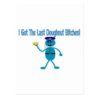 Last Doughnut Post Card