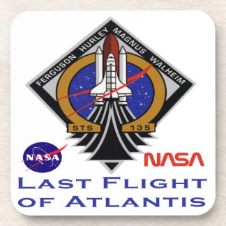 Last Flight of Atlantis Beverage Coaster