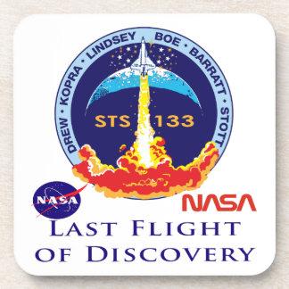 Last Flight of Discovery Beverage Coaster