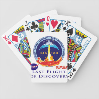Last Flight of Discovery Bicycle Card Deck