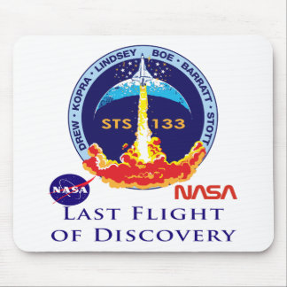 Last Flight of Discovery Mousepads