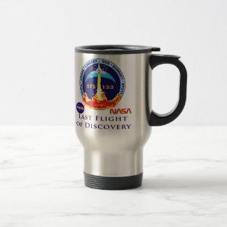Last Flight of Discovery Stainless Steel Travel Mug