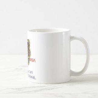 Last Flight of Endeavour Basic White Mug