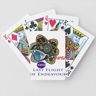 Last Flight of Endeavour Deck Of Cards