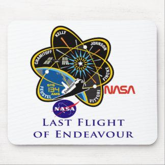Last Flight of Endeavour Mousepad