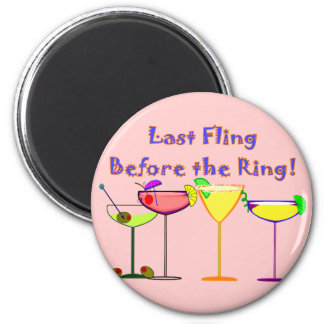 Last Fling Before The Ring Refrigerator Magnets