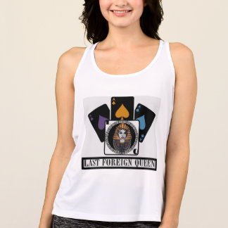 Last Foreign Queen New Balance Workout Tank Top