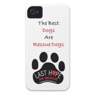 Last Hope K9 Rescue iPhone 4 The Best Dogs Case-Mate iPhone 4 Case