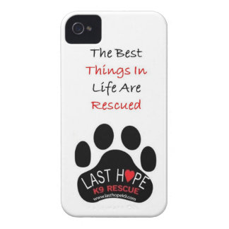 Last Hope K9 Rescue iPhone 4 The Best Things iPhone 4 Case-Mate Case