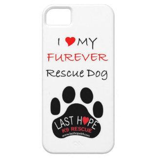 Last Hope K9 Rescue iPhone 5 FURever Rescue Dog iPhone 5 Cases