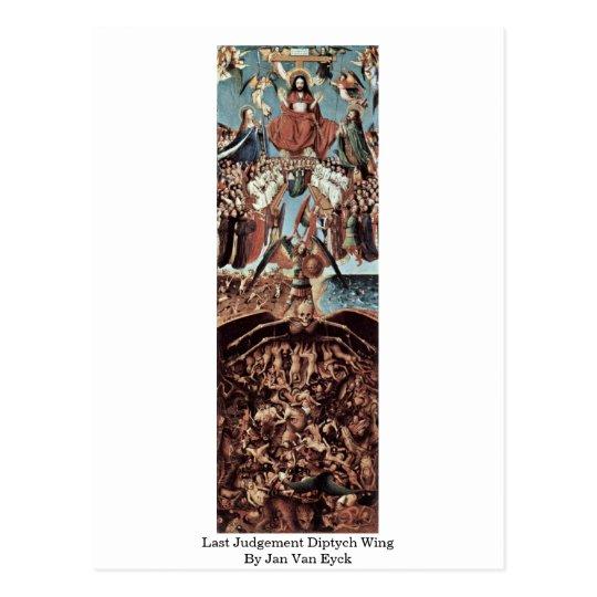 Last Judgement Diptych Wing By Jan Van Eyck
