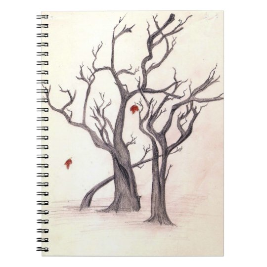 Last Leaves of Autumn Notebook