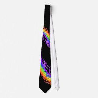 Last Minute Rainbow Wedding Tie