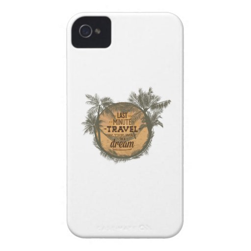 Last Minute Travel On The Way To A Dream iPhone 4 Case-Mate Cases