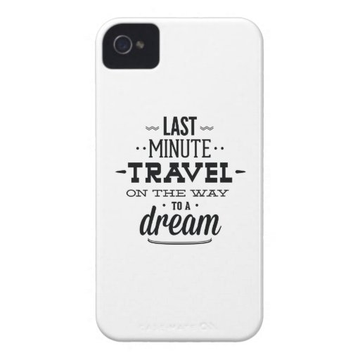 Last Minute Travel On The Way To A Dream iPhone 4 Covers