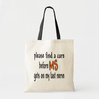 Last Nerve Bag Tote Bags