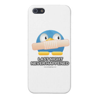 Last Night Never Happened iPhone 5/5S Covers
