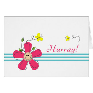 Last Round of Chemo-Hurray Greeting Card