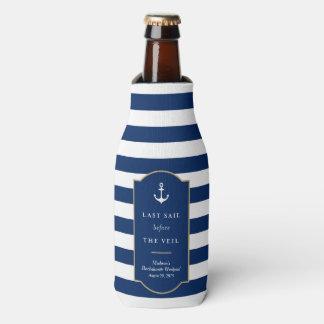 Last Sail   Bachelorette Bottle Cooler