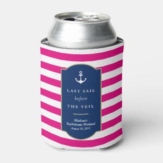 Last Sail   Bachelorette Can Cooler