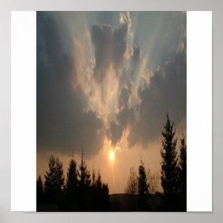 last sunset poster