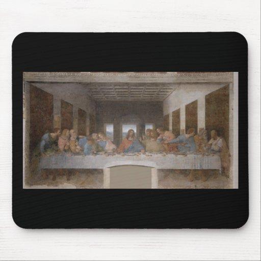 Last Supper Leonardo Da Vinci Painting Mouse Pad