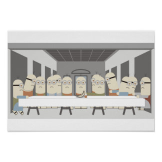 Last Supper Poster