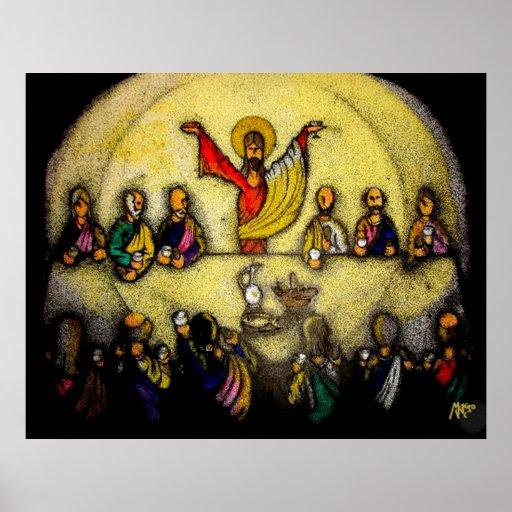 Last Supper / Ultima cena Poster