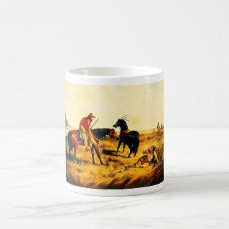 Last war whoop, native American Coffee Mug