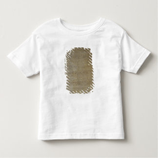 Last will and testament of the artist toddler T-Shirt