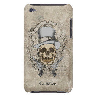 Last Word Skull & Guns iPod Touch Cover