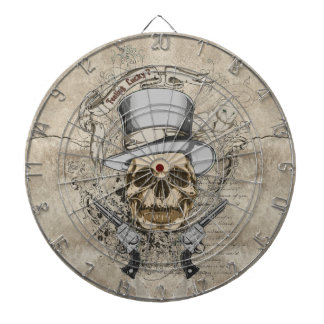Last Word Skull & Guns Dartboard