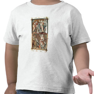 Lat 1023 f.7v David and Goliath with Saul by Le Be Shirts