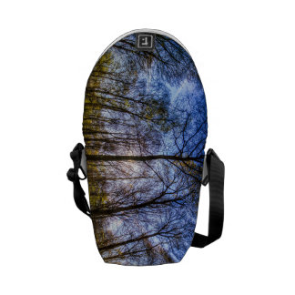 Late Afternoon Forest Courier Bag