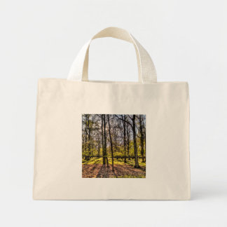 Late Afternoon Forest Mini Tote Bag
