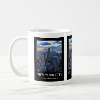 Late afternoon NYC Skyline as sunset approaches 1C Coffee Mug