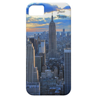 Late afternoon NYC Skyline as sunset approaches iPhone 5 Cases