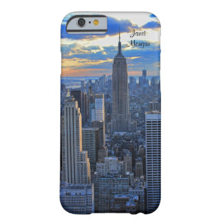 Late afternoon NYC Skyline as sunset approaches iPhone 6 Case