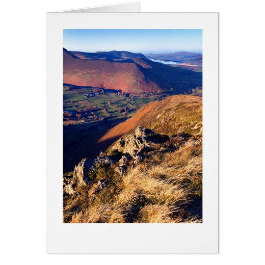 Late afternoon on Cat Bells, The Lake District