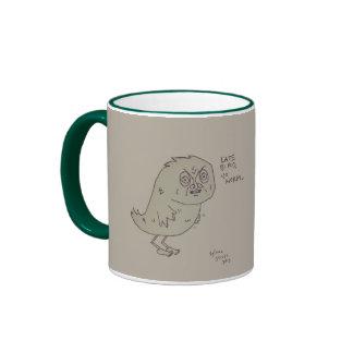 Late Bird, No Worm. Ringer Mug