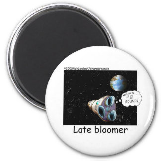 Late Bloomer Astronaut Funny Gifts Collectibles Fridge Magnets