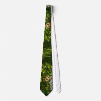 Late Day Glory Fractal FATHER OF THE GROOM Tie