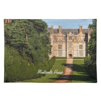 Late Elizabethan Montacute House Stately Home Placemats