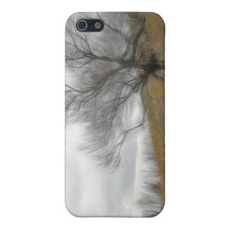 Late Fall - The Barren Hillside iPhone 5/5S Case