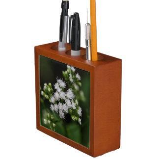 Late-flowering Boneset Wildflower Desk Organizer Desk Organisers