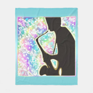Late Night Jazz n Blues ~ Music Sax Player Blanket