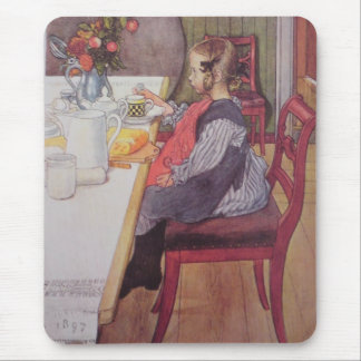Late Riser to Breakfast Mousepad