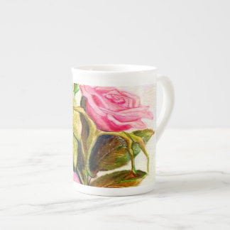 Late Spring Roses Tea Cup