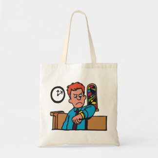 Late To Church Tote Bag