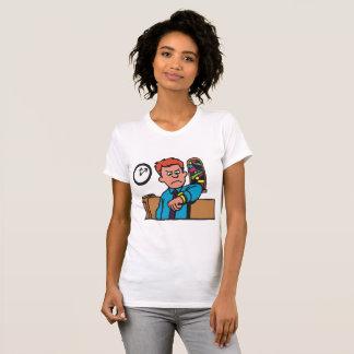Late To Church Womens T-Shirt